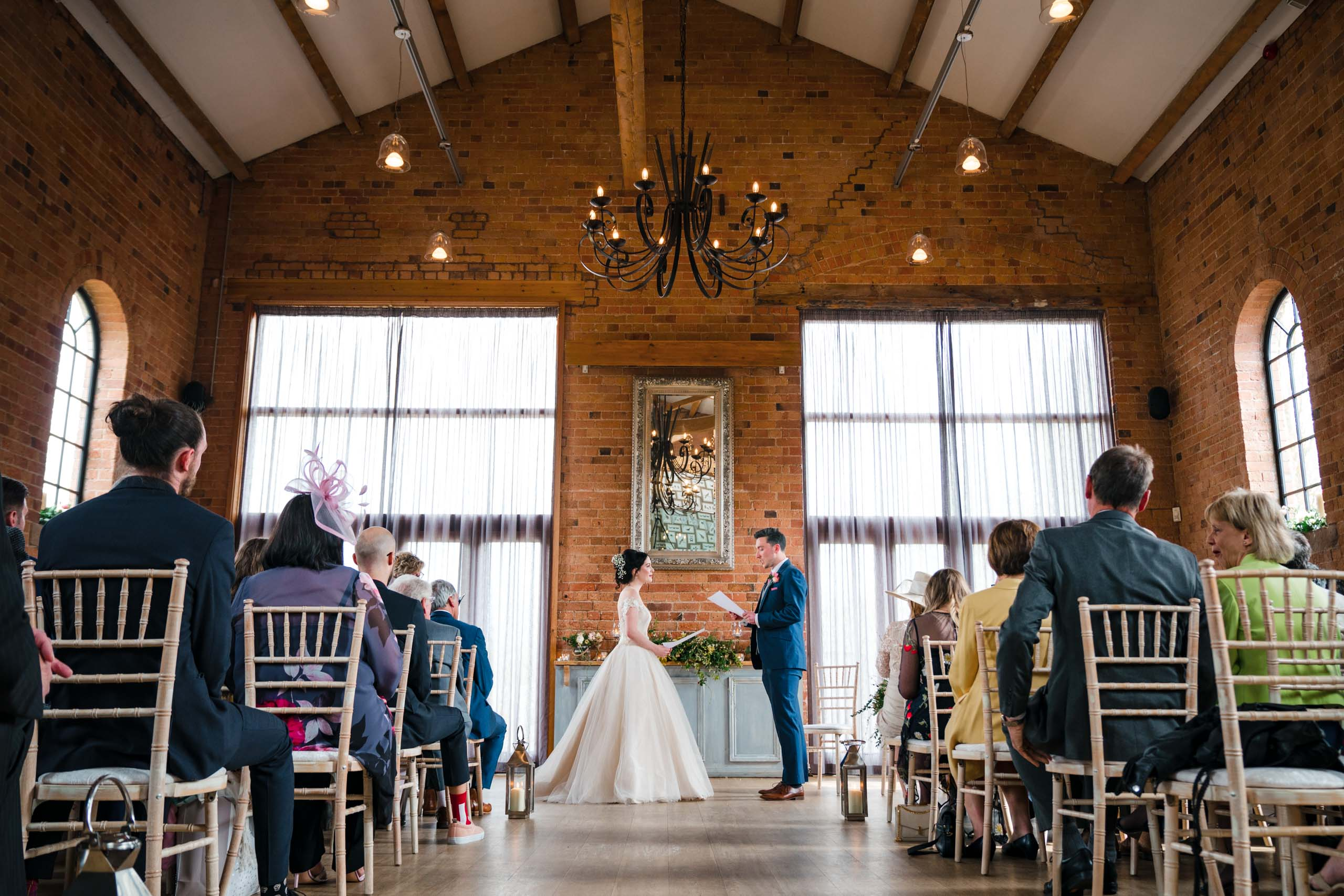 Wedding ceremony at Carriage Hall, Plumtree Nottingham