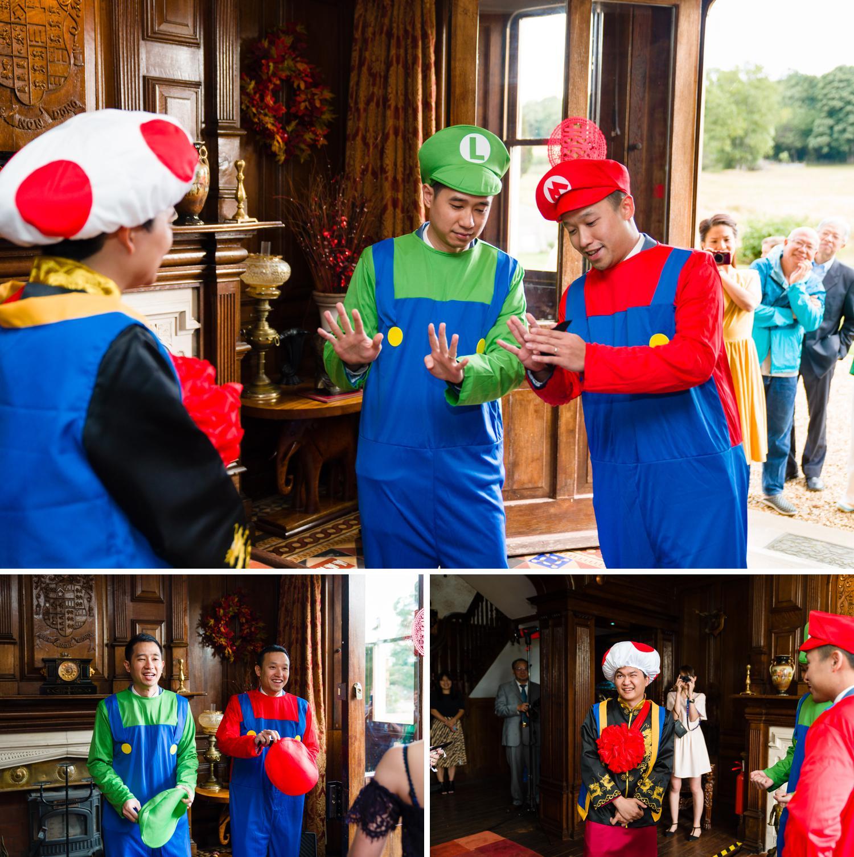 Chinese wedding door games at Eriviat Hall