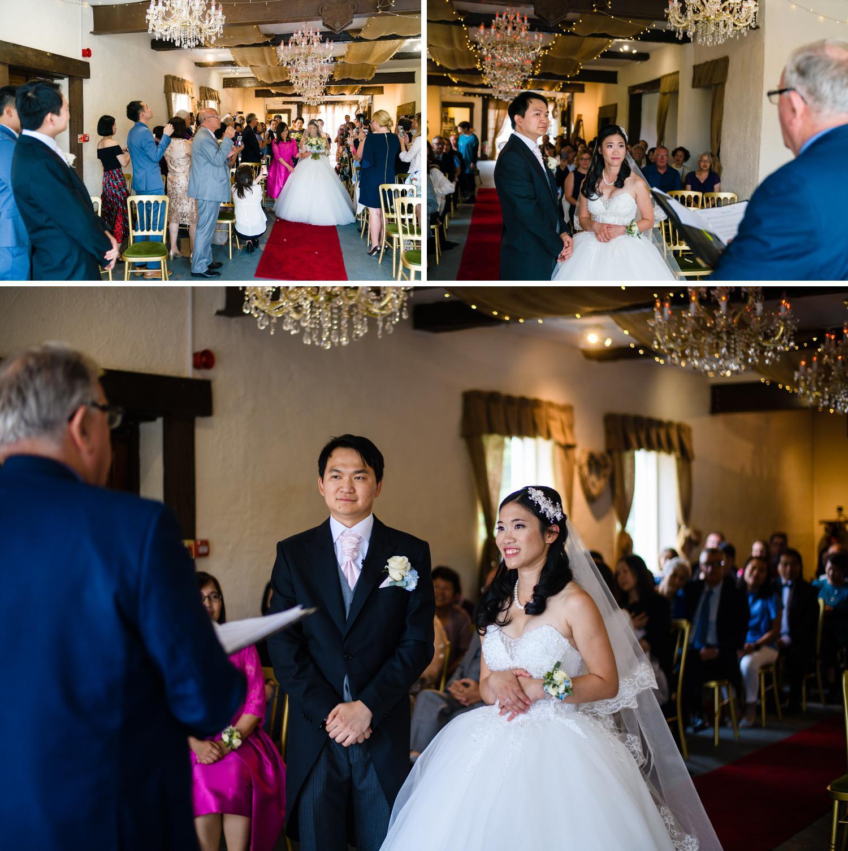 Wedding ceremony at Eriviat Hall