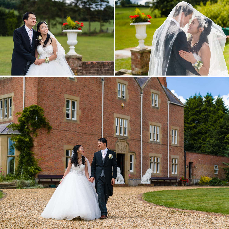 Eriviat Hall Wedding photos from Leona & Steven's wedding day
