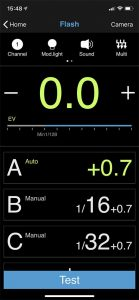 Flashpoint R2 app - Bluetooth - Apple IOS