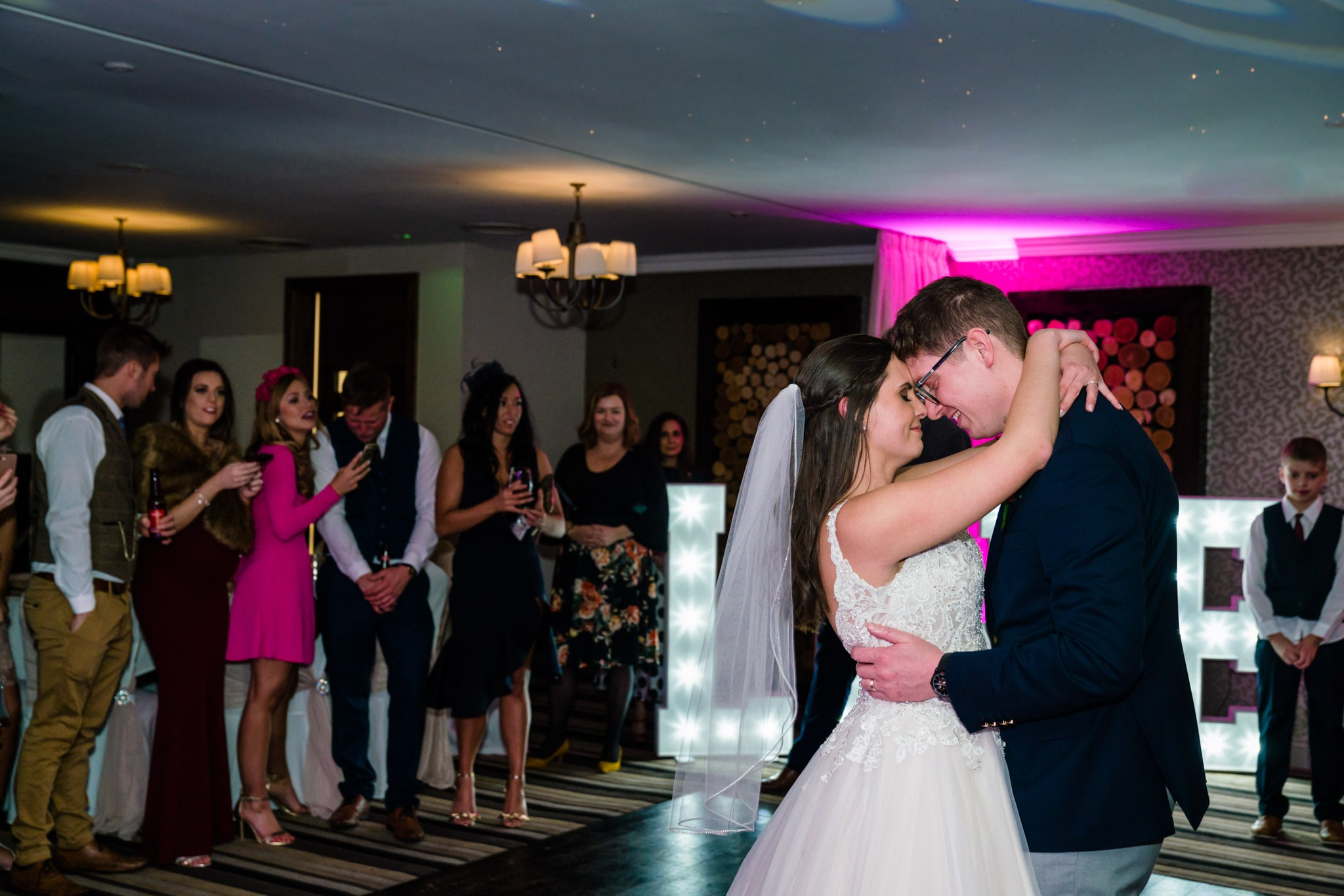 First Dance Photo at Nottinghamshire Golf club