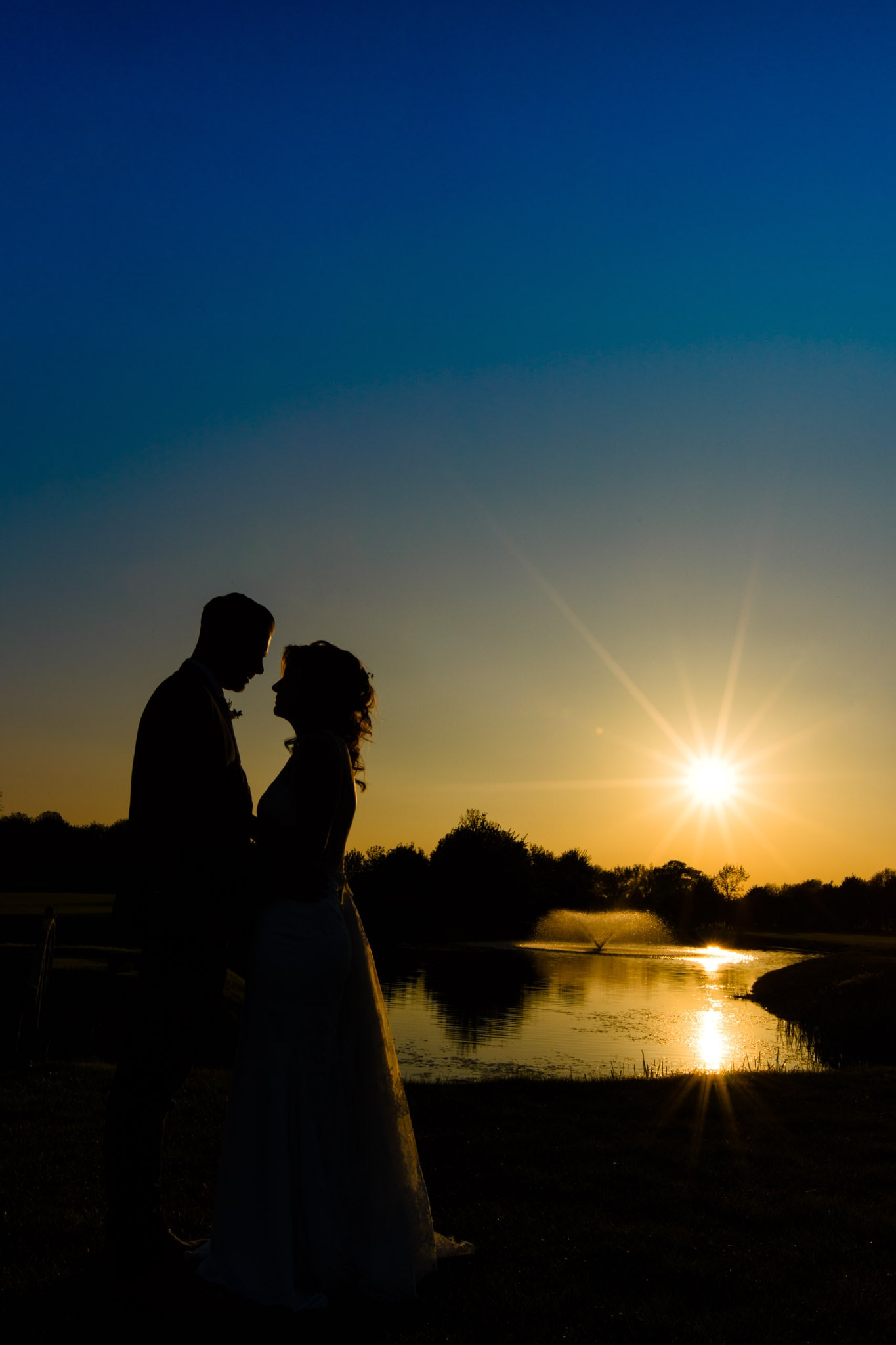 Sunset photo at Nottinghamshire Golf & Country Club