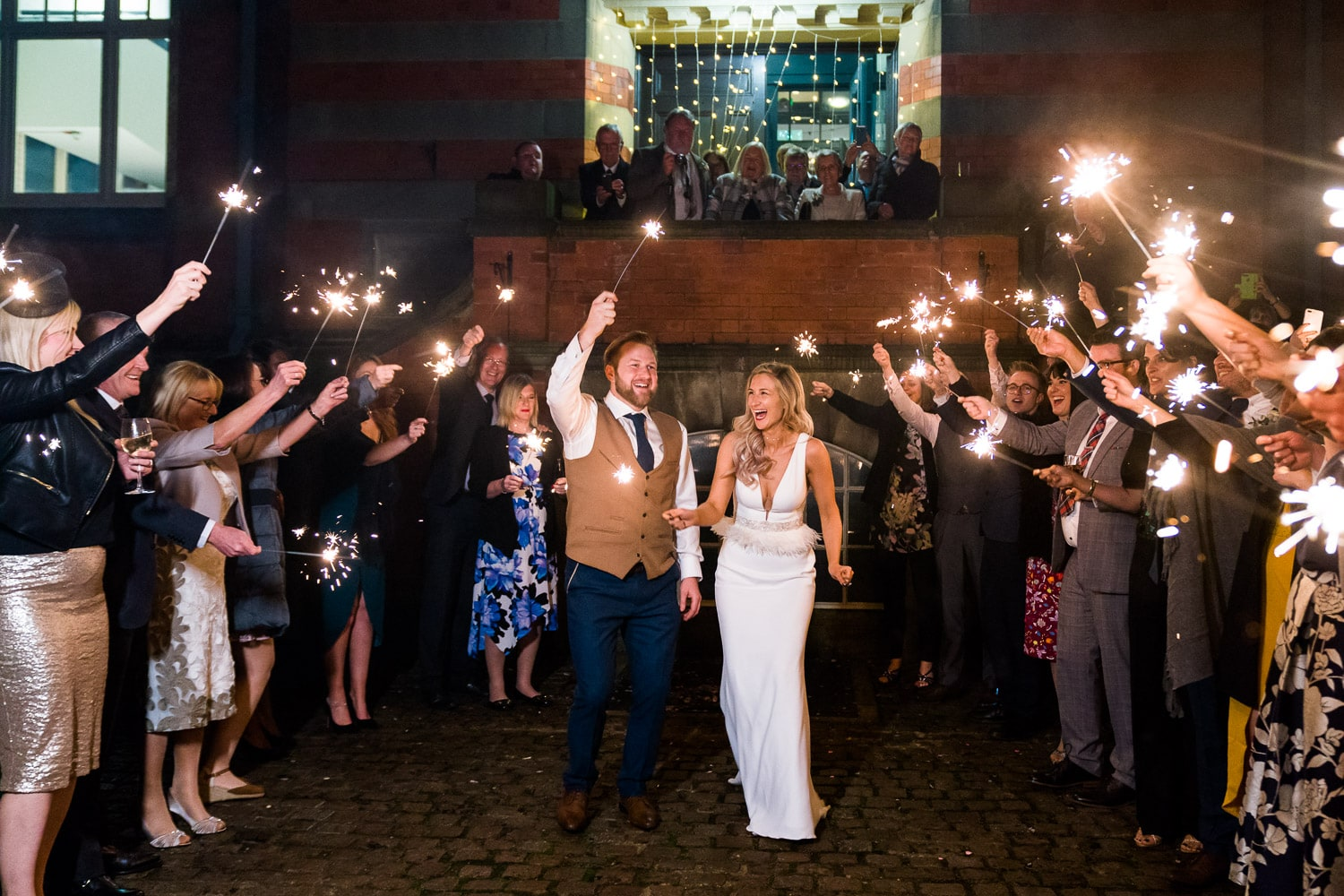 Nottingham wedding videographer at Pumping House in Ollerton