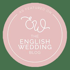 English Wedding Blog Magazine Badge