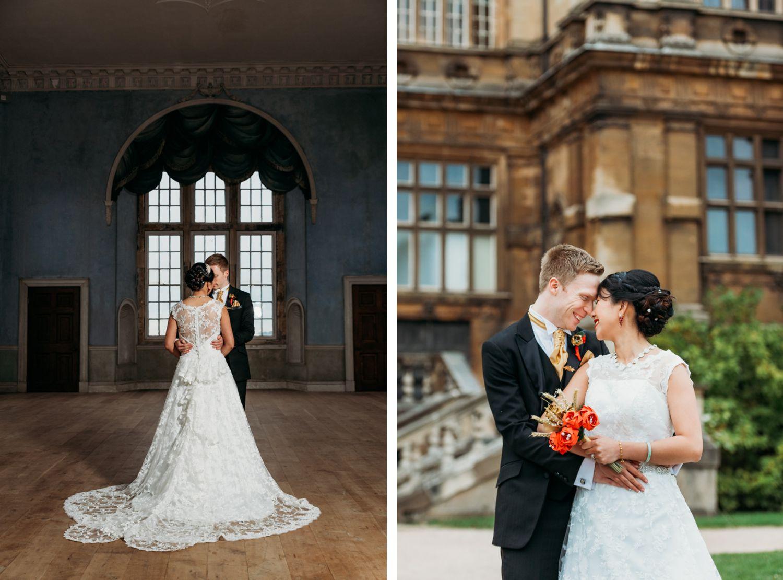 Wollaton Hall wedding photos