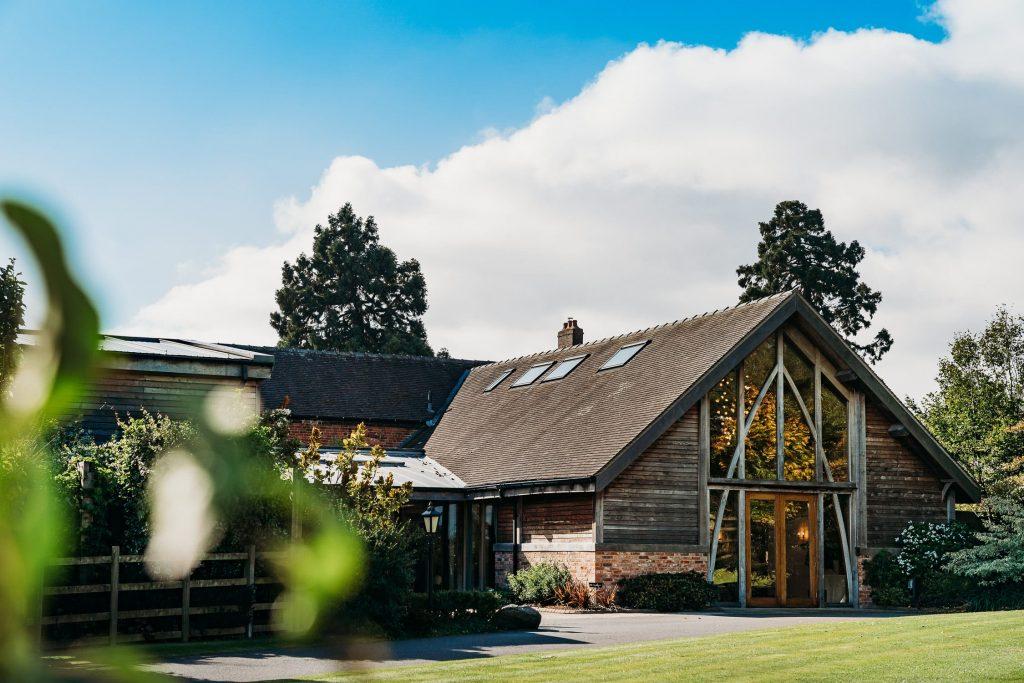 Outside photo of Mythe Barn