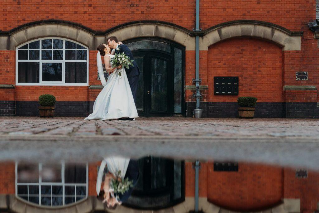 Pumping House wedding photograph, Ollerton Nottinghamshire