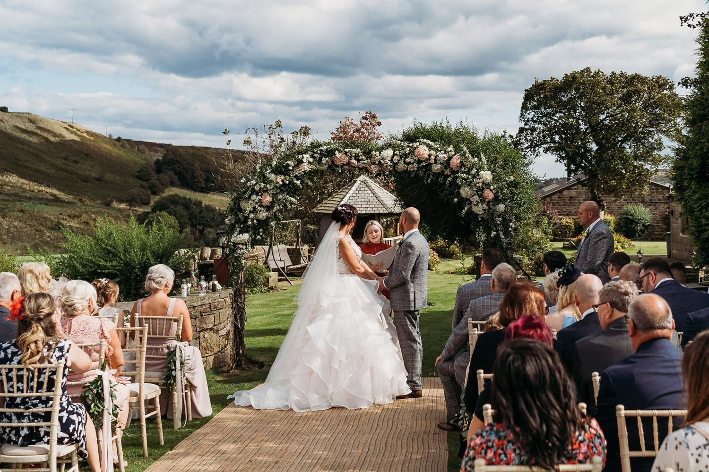Celebrant led wedding ceremony
