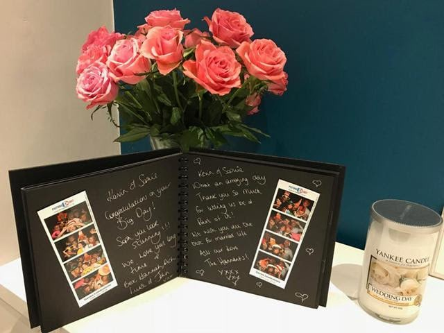 Guest book for Photobooth