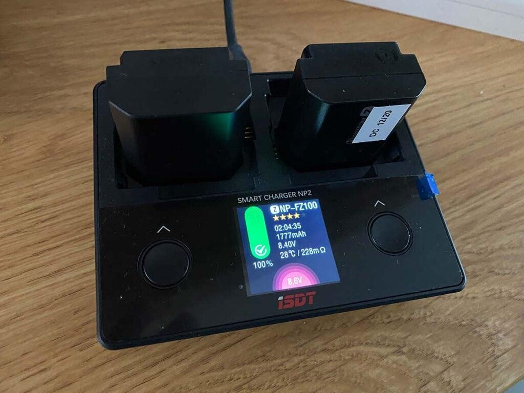 Capacity of PowerExtra battery